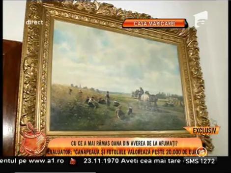 Obiectele de artă, dintr-o singură casă, moștenite de Oana Zăvoranu, aproximativ 500.000 de euro!