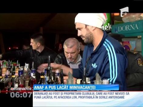 Inspectorii ANAF au închis primul club de lux din Mamaia