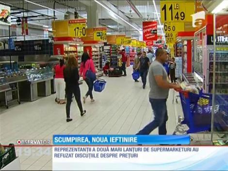 Hipermarketurile care au majorat prețurile ar trebui să le scadă de două ori de la 1 iunie