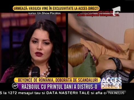 Beyonce de România a leșinat în platoul de la Un Show Păcătos