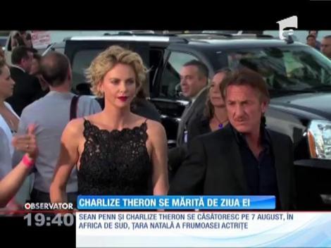 Sean Penn şi Charlize Theron se căsătoresc
