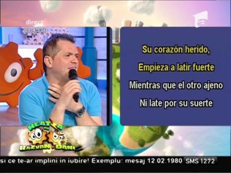 Cătălin Oprișan, interpretare de senzație pe muzica lui Julio Iglesias