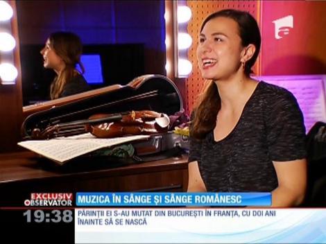 Sarah Nemţanu a fost aleasă prim-solista Orchestrei Naţionale din Franţa