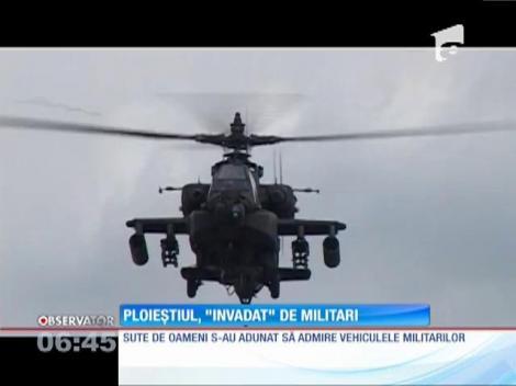 Ploieştiul a fost invadat de militarii americani