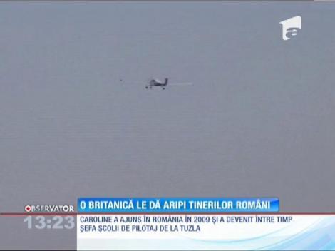 O britanică le dă aripi tinerilor români