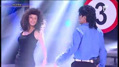 """Cezar Ouatu se transformă în Michael Jackson - """"The Way You Make Me Feel"""""""