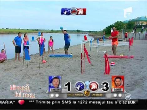 Olimpiada trupelor speciale! Marian vs. Dănuţ