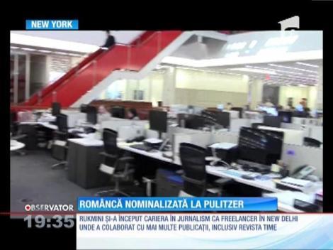 O româncă se numără cei mai mari jurnalişti ai lumii