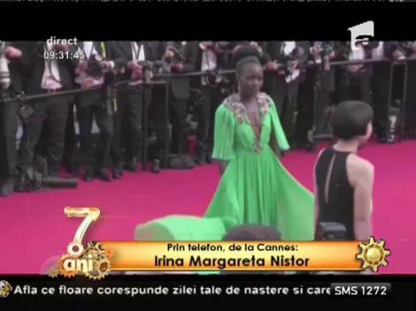 Irina Margareta Nistor oferă informaţii de la Cannes