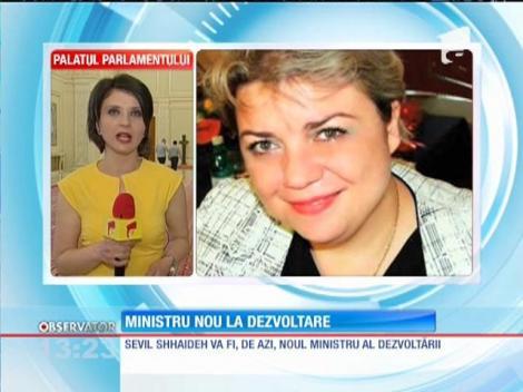 Ministru nou la dezvoltare