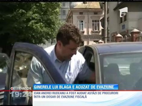 Ginerele lui Vasile Blaga, acuzat de evaziune fiscală de milioane de euro