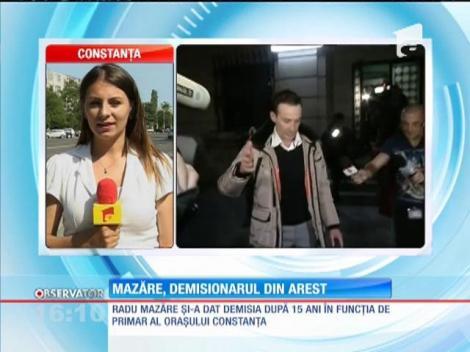 Radu Mazăre și-a dat demisia din funcția de primar