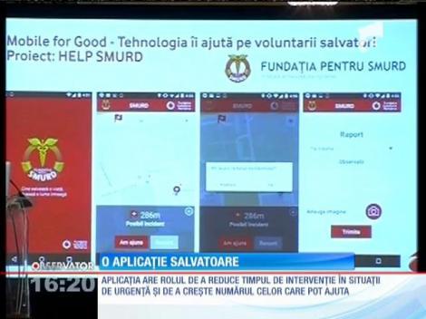 """""""Help SMURD"""" - o aplicație salvatoare"""