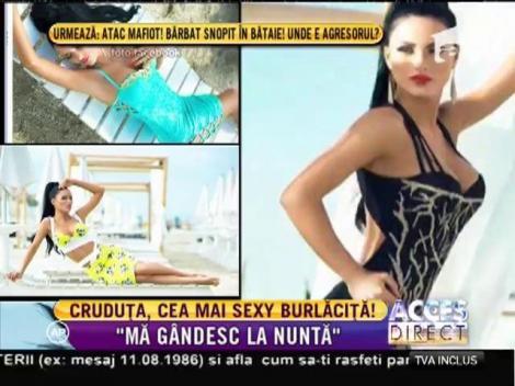 """Daniela Crudu este noua """"Burlăciţă""""! Focoasa brunetă e hotărâtă să îşi găsească marea dragoste"""
