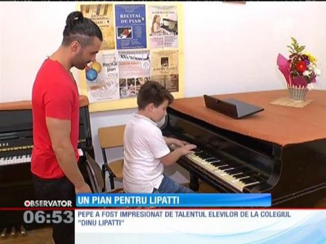 """Pepe şi Monica Anghel s-au alăturat campaniei """"Un pian pentru Lipatti"""""""