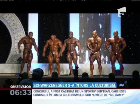 Schwarzenegger s-a întors la culturism