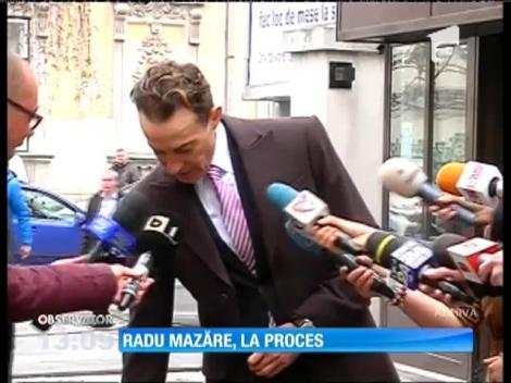 Radu Mazăre, la proces