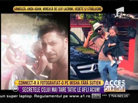 Connect-R și-a pozat soția FĂRĂ SUTIEN! Artistul a arătat fanilor ceea ce doar el poată să vadă!