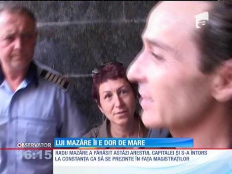 Radu Mazăre, în fața magistraților din Constanța