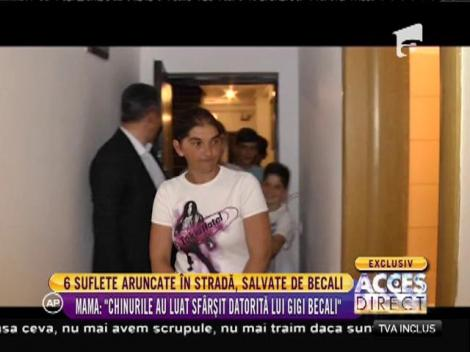 6 suflete aruncate în stradă, salvate de Gigi Becali