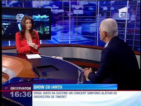 Virgil Ianțu va susține un concert simfonic alături de Orchestra de tineret!