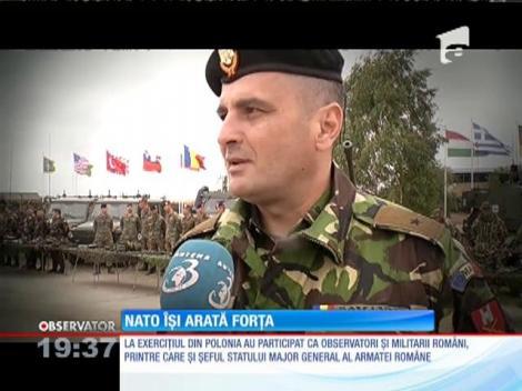 NATO a făcut o demonstraţie de forţă la un exerciţiu desfăşurat în Polonia
