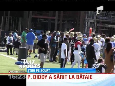Rapperul P. Diddy este acuzat că l-a atacat pe antrenorul de fotbal al fiului său
