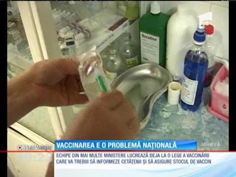 Vaccinarea a devenit o problemă națională