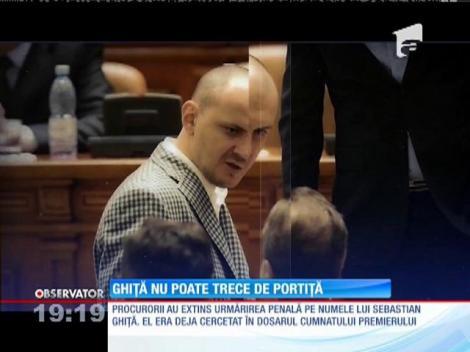Sebastian Ghiţă a fost obligat să nu părăsească oraşul de domiciliu, Ploieşti