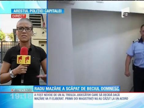 Radu Mazăre este liber după după două luni şi jumătate petrecute după gratii