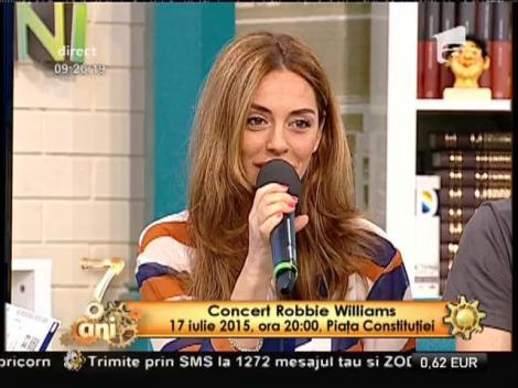 Ultimele informații despre concertul lui Robbie Williams, din Piaţa Constituţiei