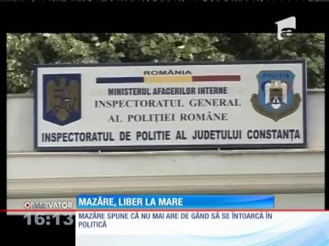 Radu Mazăre a gustat din nou aerul dulce al libertăţii