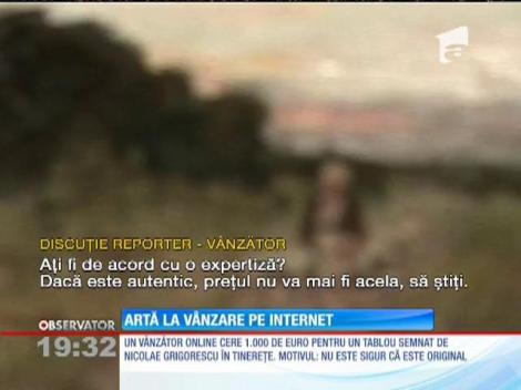 Românii fac afaceri cu obiecte de artă vândute la mica publicitate