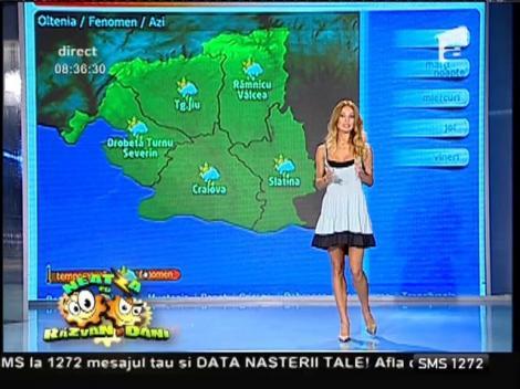 Ploile pun stăpânire pe toată ţara! Vremea cu Flavia Mihăşan
