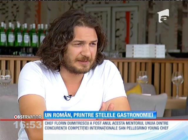 Chef Florin Dumitrescu, printre stelele gastronomiei mondiale