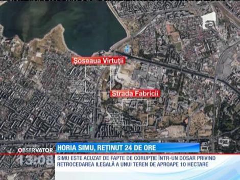 Omul de afaceri Horia Simu, reţinut 24 de ore