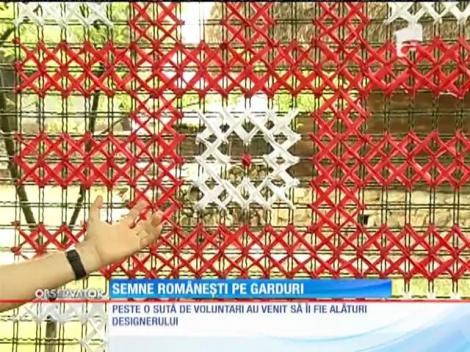 Semene tradiționale românești pe gardurile Bucureştiului. Muzeul Satului, primul experiment
