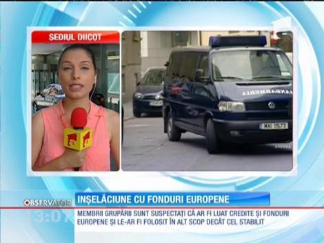 Înșelăciune cu fonduri europene în Călăraşi şi Vaslui. Prejudiciul ar fi de 24 de milioane de euro