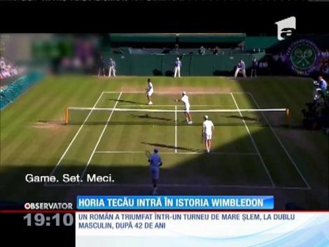 Horia Tecău intră în istoria Wimbledon
