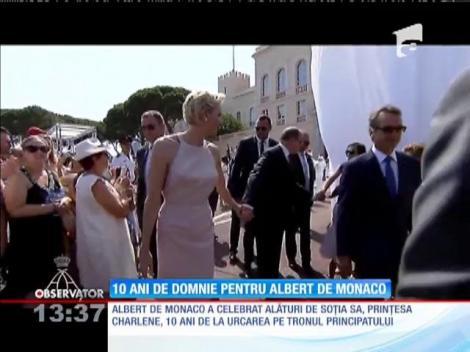Zece ani de domnie pentru Albert de Monaco