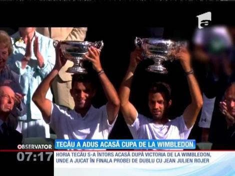 Horia Tecău s-a întors în România după victoria de la Wimbledon