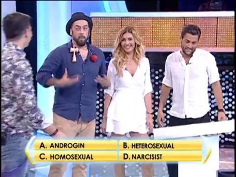 Rândul 2: Cum se numește o persoană care are caracteristici specifice ambelor sexe?