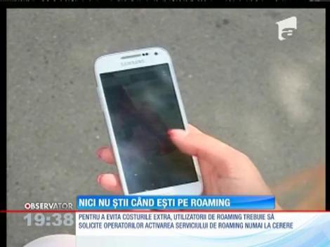 Serviciul de roaming crește prețul facturii, chiar și pentru cei care nu trec granița!