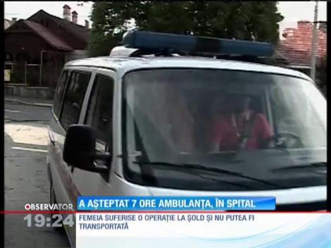 O bătrână de 90 de ani a așteptat 7 ore ambulanța, în Spitalul Judeţean din Braşov!
