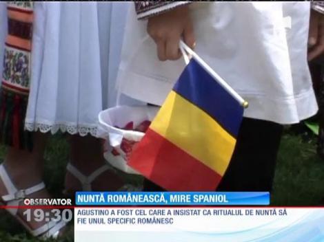 Un spaniol s-a căsătorit în România după tradiţiile autohtone