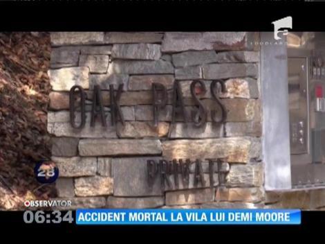 Un bărbat de 21 de ani a fost găsit înecat în piscina vilei lui Demi Moore, de la Los Angeles