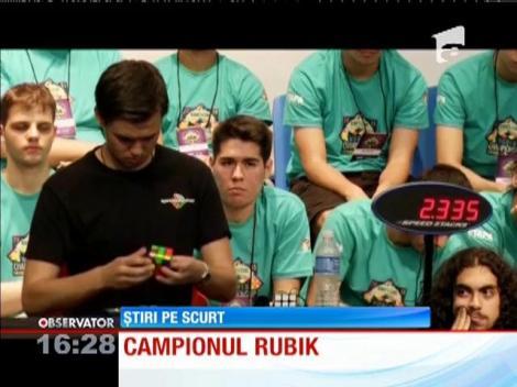 Un australian a câştigat Campionatul mondial de Cub Rubik