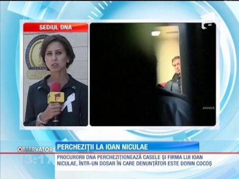 Procurorii DNA îi percheziţionează casele şi firma celui mai bogat român, Ioan Niculae