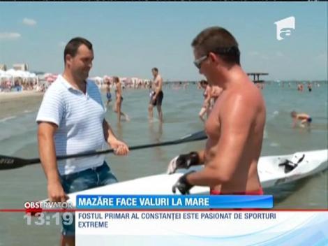 Radu Mazăre face valuri la mare