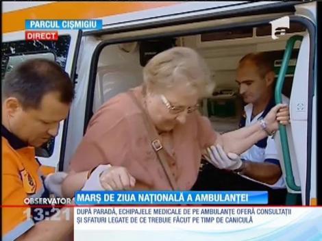 Marş de  ziua naţională a Ambulanţei